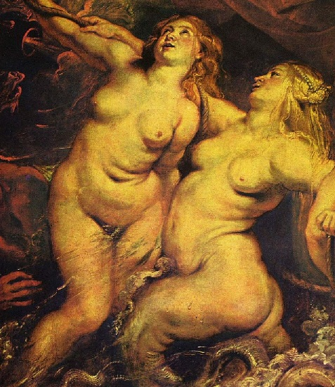 Zu hässlich für Sex- Peter_Paul_Rubens_Catarina de Medici in Marseilles